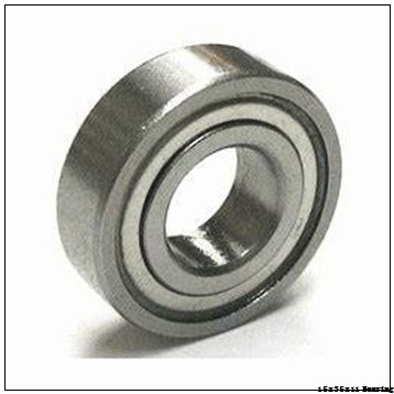 Stainless Steel Deep groove ball bearing W6202 2RS ZZ 15x35x11 mm