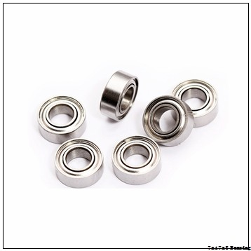 F697 ZZ Flanged Shielded Miniature Deep groove ball Bearing 7x17x5 mm