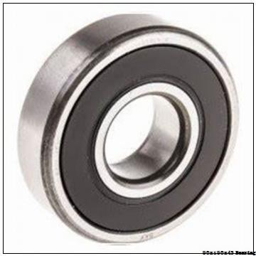 6318-rs 2rs 2z Bearing 90x190x43 90mm bore 190 mm od 43mm wide 6318 Ball Bearings