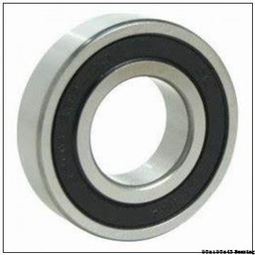Chinese factory high speed Angular contact ball bearing 7318BECBJ Size 90x190x43
