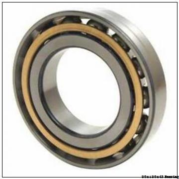 High speed vibrating screen Angular contact ball bearing 7318BEM Size 90x190x43