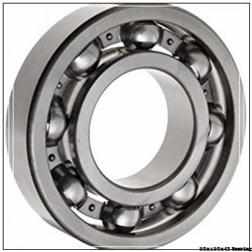 90 mm x 190 mm x 43 mm  NTN 30318 Tapered roller bearing 30318U Bearing size 90x190x43mm