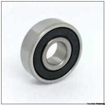 Chrome steel deep groove miniature ball bearing 607 2RS with dimension 7x19x6 mm