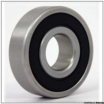 High speed 15x35x11 single row deep groove ball bearing 6202 2rs rs zz z size