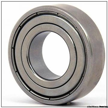 6202-2RS Rubber Sealed Chrome Steel Miniature Ball Bearing 15x35x11