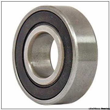 P0 (ABEC-1) deep groove ball bearing 6202-2RS with dimension 15x35x11 mm