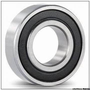 6202 ZZ NR deep groove ball bearing with Circlip Snap Rings 15x35x11