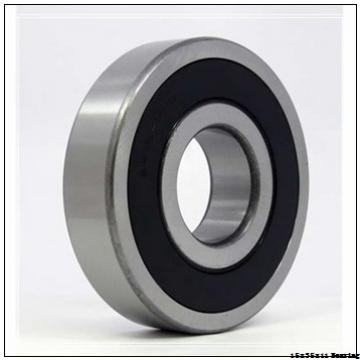 Chrome Steel Deep Groove Ball Bearing 6202-2rs 6202 Z 6202zz With Dimension 15x35x11 Mm For Motorcycle