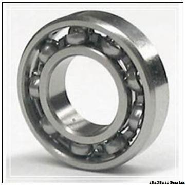Deep Groove Ball Bearings With Glass Balls Nylon Cage POM Plastic Bearing 15x35x11 mm 6202