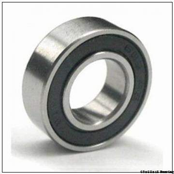 6008LLU Bearing 40x68x15 mm High Precision Deep Groove Ball Bearing 6008 LLU
