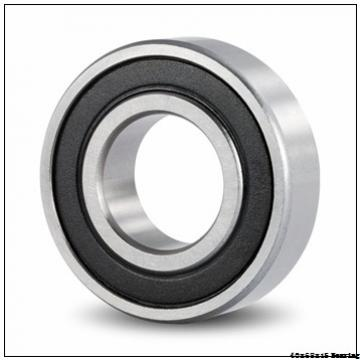 6008 Deep Groove Ball Bearing 6008-2RS 6008 2RS 40x68x15 mm