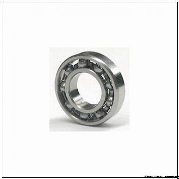 40*68*15mm Zirconia deep groove ball bearing 40x68x15 mm ZrO2 full Ceramic bearing 6008