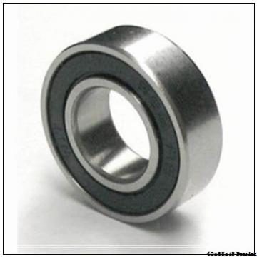 High speed motor bearings 6008-2RZTN9/HC5C3WT Size 40X68X15