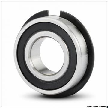 High quality agricultural machinery Angular contact ball bearing 7008CD/P4A Size 40x68x15