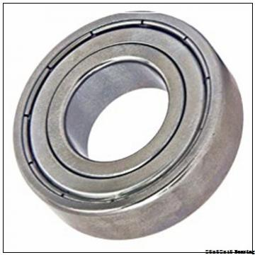 Widely Used Of Motorcycles Stainless Steel 25x52x15 mm Deep Groove Ball Bearing 6205/6205-2RS/6205ZZ
