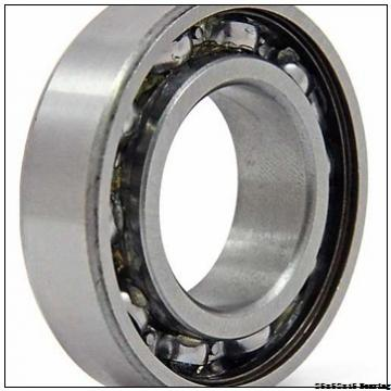 Deep Groove Ball Bearings With Glass Balls Nylon Cage POM Plastic Bearing 25x52x15 mm 6205