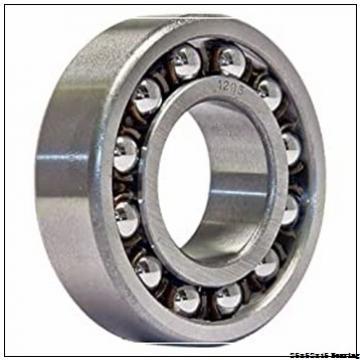 6205-2RS Full Ceramic 25x52x15 mm Si3N4 ZrO2 6205 2RS or 6205 RS Sealed Ceramic Ball Bearings
