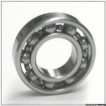 Durable dust resistant sealed ball bearing size 25x52x15 6205 2RS C3 bearing