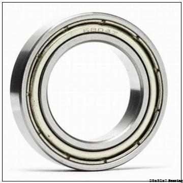 glass ball nylon cage bearing 6804 20x32x7 POM plastic ball bearing