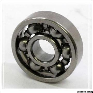 628-ZZ Extra Small Ball Bearings - National Precision Bearing 8X24X8mm