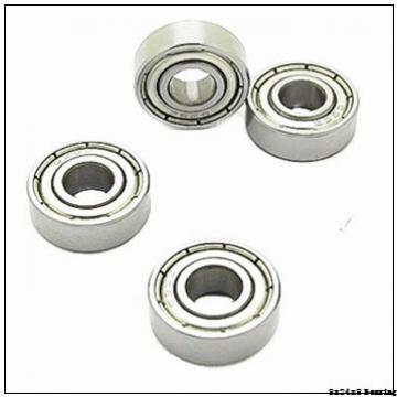 8*24*8mm Zirconia deep groove ball bearings ZrO2 full Ceramic bearing 8x24x8 mm 628