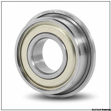 Chrome steel deep groove miniature ball bearing 628 2RSwith dimension 8x24x8 mm