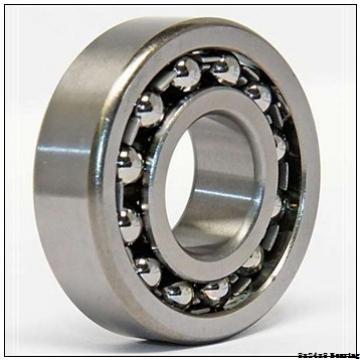 F628ZZ Miniature flange ball bearing 8x24x8 mm