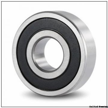High precision 628 full ceramic bearing of full complement balls 8x24x8mm