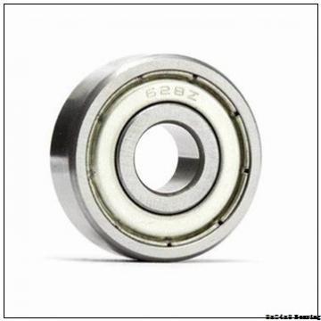 8x24x8 8 mm bore bearing size 628 POM plastic bearing