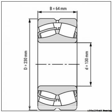 NU2226EM cylindrical roller bearing 130x230x64 mm