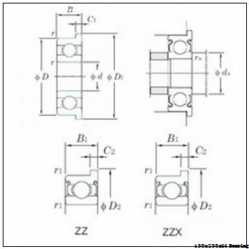 SB-22226 Bearing Sizes 130x230x64 mm Sealed one row Spherical Roller Bearing SB22226
