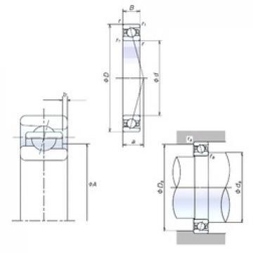 120 mm x 165 mm x 22 mm  120BER19X Bearing NSK High Precision Ball Screw Bearing 120BER19X NSK Bearing Size: 120x165x22mm
