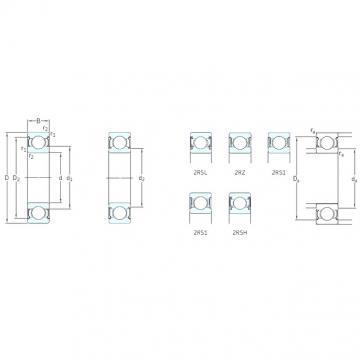 8 mm x 24 mm x 8 mm  SKF 628-2Z Deep groove ball bearing 628-Z Bearings size: 8x24x8 mm 628-2Z/C3