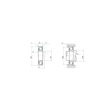 NSK 7008C Angular Contact Ball Bearing 40x68x15mm Bearing 7008