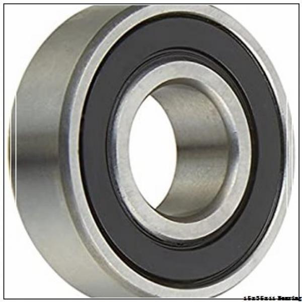 15 mm x 35 mm x 11 mm  NSK deep groove ball bearing 6202 bearing price list NSK bearing 6202 2z #2 image