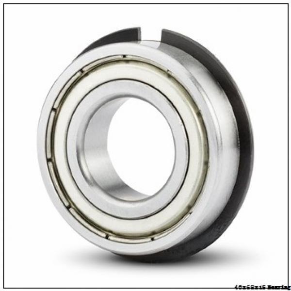 7008ACD/P4AH Super Precision Bearing Size 40x68x15 mm Angular Contact Ball Bearing 7008 ACD/P4AH #1 image